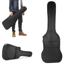 guitare Pochette NEUF électrique sac sangles noir étui double à dos rembourré