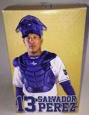 SALVADOR PEREZ #13 KANSAS CITY ROYALS BOBBLEHEAD CATCHER POSITION NIB SGA 2014