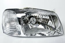 White Headlight Front Lamp Right Fits Hyundai Accent 2000-2002