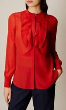 Sleeve Hand-wash Only Tops & Blouses for Women with Ruffle