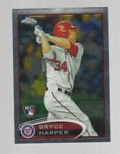 2012 Topps Chrome Bryce Harper RC #196