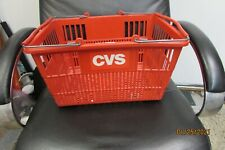 New ListingCvs shopping basket with steel handles