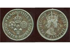 ILE MAURICE  quarter rupee  1975  ( bis )