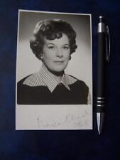 Eunice Black   Autograph (code J21) please scroll down