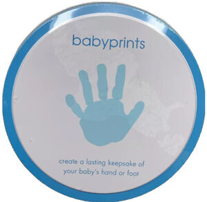 BABYPRINTS LASTING KEEPSAKE BABY'S HAND OR FOOT! Easel Included BRAND NEW SEALED