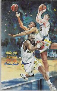 1991-92 Golden State Warriors Media Guide TIM HARDAWAY, CHRIS MULLEN, DON NELSON