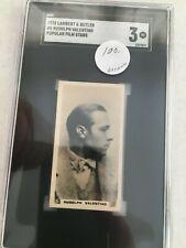 1925 Lambert Rudolph Valentino card  SGC 3 - $39 undergraded