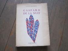 Aloysius BERTRAND: Gaspard de la nuit (édition québécoise)