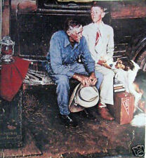 Breaking Ties By Norman Rockwell