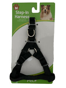 Step in Dog Harness Medium Size Black