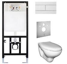 Oli WC Set   Vorwandelement Wand - WC Sitz  Spülkasten design Platte