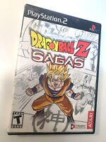 Dragon Ball Z Sagas PS2 Sony PlayStation 2 Complete CIB Tested Working!