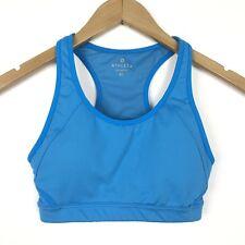 0f2c367c31 Athleta Women s Size Xsmall Double Dare Athletic Racerback Sports Bra Top  Blue