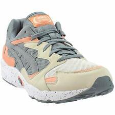 Asics Mens gel-diablo Low Top Lace Up Running Sneaker, Grey, Size 9.5
