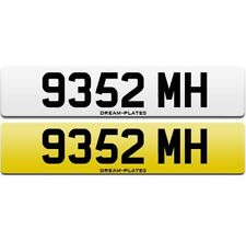 9352 MH dateless personal number plate MH