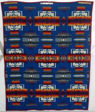 "PENDLETON Vintage Wool Blanket Beaver State Chief Joseph Queen 62x84"" US Charity"