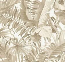 Alfresco Palm Leaf Wallpaper Taupe