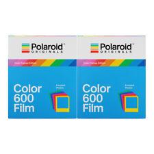 2 X Polaroid Originals 4672 Istant Color Film for Polaroid 600 Type Camera
