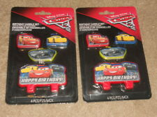 Cars 3 Party Supplies Disney Birthday Candle 2 Packs Of 4 NEW
