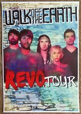 Walk Off The Earth Tour Poster R.E.V.O. Gig Concert Revo
