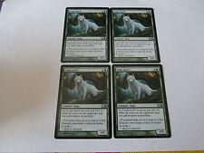 Carte magic Loup sacré Magic 2011 x 4 !!!