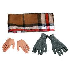DID Action Figures 1//6 Scale Matthias Waffen Radio Operator Cloth Gloves