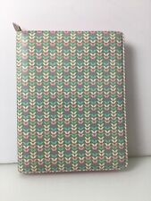 Filofax iPad Air Folio Case With Note Pad Insert breast cancer pink Sleeve
