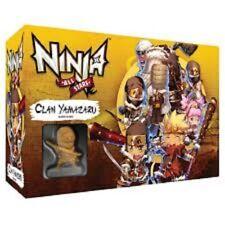NINJA ALL STARS GAME MINIATURES BRAND NEW NJD010500 CLAN YAMAZARU