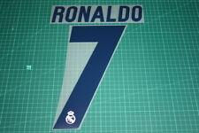 Real Madrid 16/17 #7 RONALDO Homekit Nameset Printing