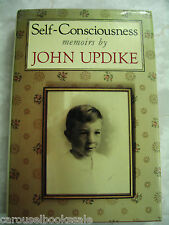Self-Consciousness - Memoirs by John Updike (HCDJ 1989) A58