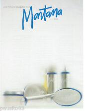 PUBLICITE ADVERTISING 115  1988  le parfum Douceur  de peau de MONTANA