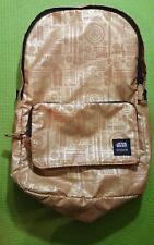 *Limited Release* (Tilly's Exclusive) Nixon Brand Gold Star Wars C-3P0 Backpack
