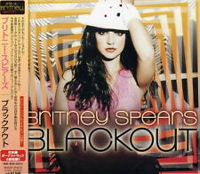 BRITNEY SPEARS Blackout Japanese Edition Bonus track x 4 CD BMG JAPAN New