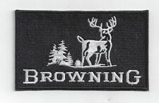 BROWNING   IRON ON PATCH BUY 2 GET 1 FREE = 3 of these.