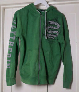 Harry Potter Slytherin Green Jumper Hoody adult size XS