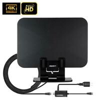 150Mile 1080P HD Digital Indoor Amplified TV Antenna HDTV VHF/UHF with Stand US
