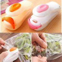 Portable Food Mini Heat Sealing Machine Impulse Sealer Seal Packing Plastic Bag