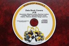 JCB All Models Service Data Book Manual 1992-2004 Fastrac,Teletruk,Excavator ETC