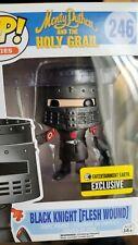 Funko Pop #246 Monty Python Holy Grail Black Knight Flesh Wound Exclusive