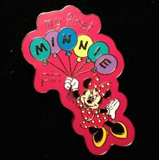 DISNEY PIN - MINNIE MOUSE with Balloons My First Minnie Pin