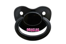 Adult Sized Black Pacifier/Dummy NUK 6 | For Adult Baby ABDL DDLG | BIG SHIELD