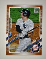 2021 Topps Series 1 Base Memorial Day #252 Luke Voit /25 - New York Yankees