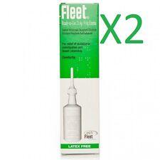 2 X 21.4g la flota Listo Para Usar Libre de látex enema para aliviar el estreñimiento ocasional