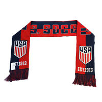 Team USA Soccer Scarf NEW Double Sided National Team US USMNT