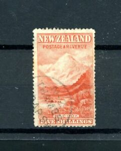 New Zealand Mount Cook   5s Value   fine-used     (O555)