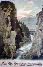 1905 FERROVIA del GOTTARDO Gola di Stalvedro P.Luccadro