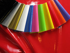 PVC SHINY STRETCH FABRIC - 1 WAY STRETCH - WIDTH 145 CM