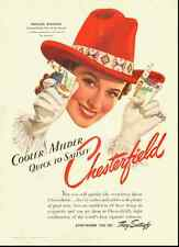 1941 vintage cigarette ad, Chesterfield, girl of the Month-122212
