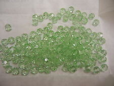 full package,144 new preciosa round crystal beads,7mm light green