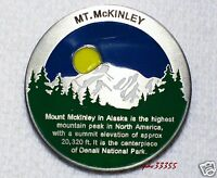 Mount McKinley Benchmark - New Geocoin Unactivated